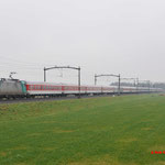 14 Februari 2016: Hulten / 186 199 BLOG Met de railpromo Austria Express  vanuit Emmerich naar Brussel.
