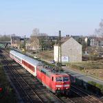 27 Februai 2016: Essen-Altenessen / 181 204 PBZ 2470 van Frankfurt Hbf naar Dortmund Bbf