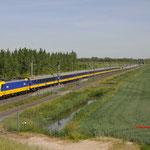 1 Juni 2017:  's-Gravendeel / 186 030 Met een IC van Den haag centraal naar Eindhoven met achterop een onbekende 186.