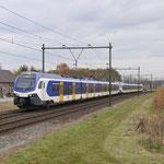 18 November 2017: Horst / 2520,2525 Als IC 13540 van Venlo naar Eindhoven.