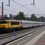 5 September 2014: Apeldoorn / NS 1738 met internationale trein naar Amsterdam