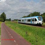 11 Augustus 2014: Zevenaar / 5048 onderweg als stoptrein naar Doetinchem.