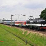 27 Juni 2014: Hulten / 1252 EETC Met ledig materieel van de autoslaaptrein naar Den Bosch.
