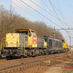 11 Maart 2010 Eindhoven / 6417 DBS + ACTS 189 096 + DBS 6465 (stoorstroommetingen is trouwens trein 92616 met -120 naar Ht)