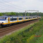 22 Mei 2015: Tilburg Reeshof / 2953,2119 Als ledig Materieel vanuit de richting Tilburg onderweg richting Breda.