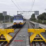 13 Oktober 2016: Hoek van Holland Strand / 2940 Aangekomen als trein 4118 vanuit Rotterdam.
