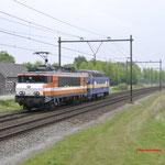 7 Mei 2017: Horst Sevenum / Locon 9902 samen met de 6703 onderweg vanuit Venlo naar Amersfoort