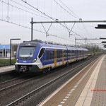 14 November 2017: Helmond Brouwhuis /  Als testtrein van Helmond naar Blerick onder treinnummer 93272.
