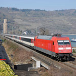 18 Maart 2016: Oberwessel / 101 106 Met EC 9 naar Zurich Hbf