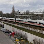 31 Maart 2015: Eindhoven / ICE 4603 Als omgleide ice via Venlo ivm problemen bij Emmerich.