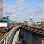 17 Januari 2015: Amsterdam Sloterdijk /186 225 NMBS Met benelux trein naar Brussel-zuid.