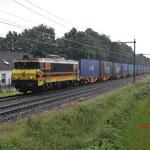 28 Juni 2016: Berkel-Enschot / 4401 Captrain met Rzepin-shuttle naar Tilburg industrie.
