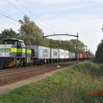 4 Oktober 2010: Eindhoven/ 7107 Met de Blerick-shuttle (50071) opweg naar Mvtw.