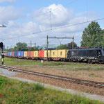 29 Augustus 2014: Eindhoven / 189 106 CT Met mawo shuttle richting Venlo.