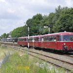 Simpelveld: 798-09,998-52,998-51  Met trein 44001 van Simpelveld naar Vetschau