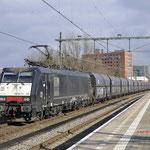 10 Februari 2018: Eindhoven / 189 995 TXL Met een Kolentrein richting Boxtel.