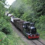 9 Juli 2017: Wijlre / LTM26 Met goederentrein 619 van Schin op geul naar Simpelveld.