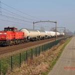 16 Februari 2015: Heukelom / 6412 DBS met een unitcargo vanuit Lutdsm naar Kijfhoek.
