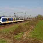 20 April 2015: Boxtel / 2605 NSR Als sprinter vanuit Eindhoven onderweg naar Tilburg Universiteit.