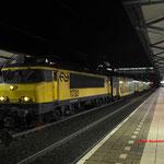 30 November 2016: Helmond Brandevoort / 1730 met ddar stam 7343 onderweg van Nijmegen naar Deurne.