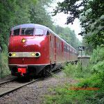 12 Juli 2014: Bocholtz / Plan u 115 onderweg naar Vetschau