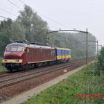 6 September 2014: Eindhoven / NSM Mp 3031 + Plan E onderweg naar het spoorwegmuseum.