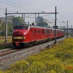 20 September 2014: Amsterdam Sloterdijk / Plan U 114 NSM als extra trein vanuit Amsterdam onderweg naar Haarlem ivm 175 jaar spoor