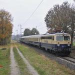 5 November 2016: Boisheim / 1042 520 Centralbahn met een extra trein van Kaldenkirchen naar Viersen ivm 150 jaar spoorlijn Venlo-Viersen.