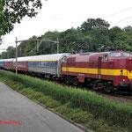 27 Juni 2014: Eindhoven / 1251 EETC Met autoslaaptrein naar Koper
