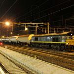 10 Januari 2014: Venlo / V266 RTB met een keteltrein uit Sittard