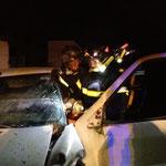 Découpage des portières d'un véhicule en vue de l'évacuation rapide d'un passager