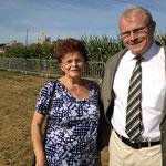 Le Docteur Guesdon, maire de Barenton et conseiller général, avec son épouse: droiture, loyauté, dévouement et esprit de responsabilité