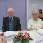 Madeleine et Louis Bouillet, doyens du Mesnil-Gilbert, avaient fêté la veille leurs 67 ans de mariage