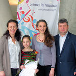 v.l.n.r.:Rozana Nemeth, Klara Lurger, Nya Jemima Gabmair-Cass, Wolfgang Rosenthaler