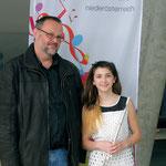 v.l.n.r.: Gerhard Stritzl, Julia Grossmann