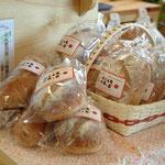系列店で手づくりされた天然酵母のパンも大人気!!