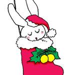 クリスマスうさぎ2