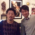 山木将平さんと2ショット!(2011年)
