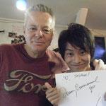 トミーからサインを貰いました!(2008年来日時)