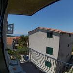 Blick von Ost West Balkon