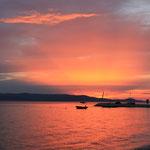 Sonnenuntergang Makarska
