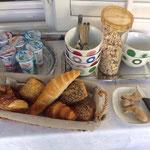 Reichhaltiges Frühstück Pension Batosic Makarska