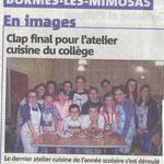 Article du dernier atelier collège. Mai 2013
