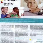 Article du 1er avril 2012 sur lesteliers de cuisine enfants