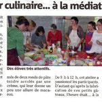 Semaine du goût à la médiathèque de  Puget-Ville. Octobre 2012