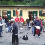 La Bim Bum Band, un groppo di percussioni formati da diversi ragazzi con la Sindrome di Down