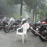 Non solo pioggia...ma grandine