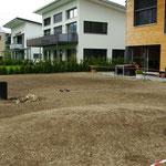 Rasen frisch angesäet