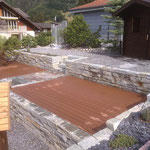 Terrasse aus WPC erstellen