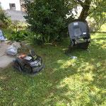Robotrasenmäher installieren
